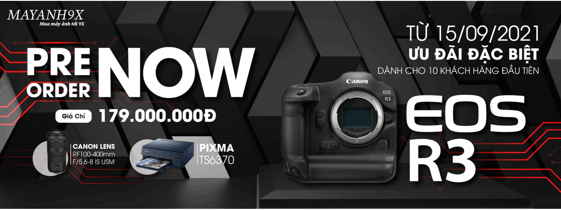 Canon EOS R3 ( Hàng Chính Hãng Lê Bảo Minh )