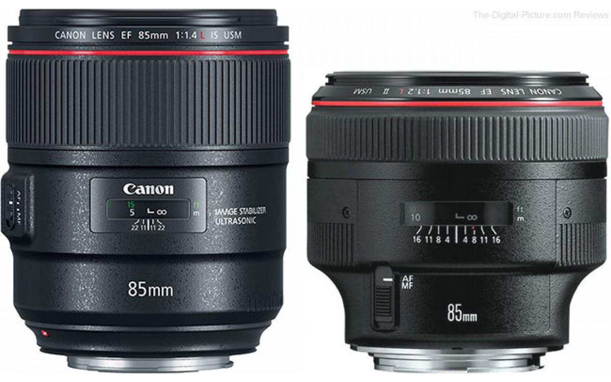 [2017]- CANON giới thiệu ống kính EF 85mm f/1.4L IS