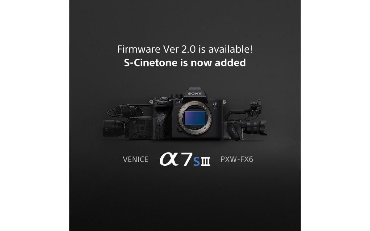Cập nhật firmware ILCE-7SM3 Phiên bản 2.00 (Mac)