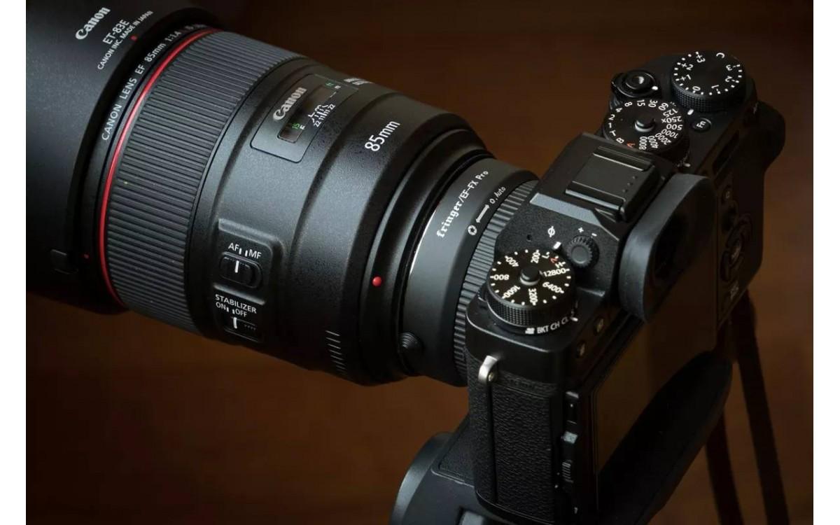 Bản thử nghiệm Adapter thông minh Canon EF - Fujifilm FX Mount