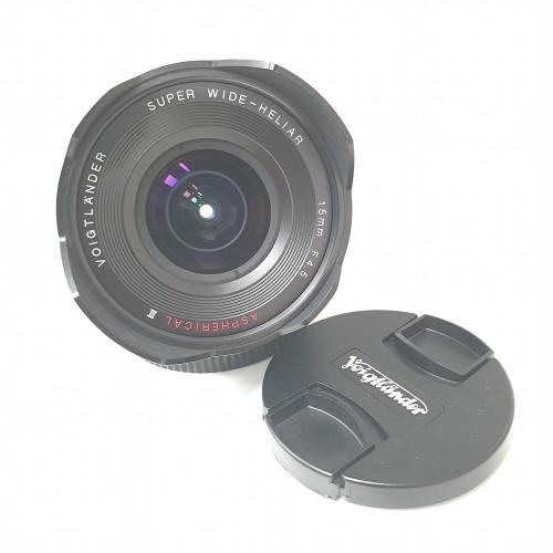 Ống Kính Voigtlander VM 15mm F4.5 SUPER WIDE-HELIAR Aspherical III for Sony E Mount Hàng Mới chính hãng