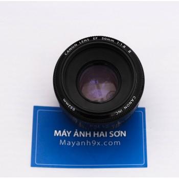 Canon EF 50mm f/1.8 II Mới 96%..