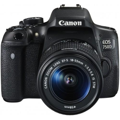 Canon EOS 750D + Kit 18-55 STM (Hàng Qua Sử Dụng - Mới 96% - 5K Shot )
