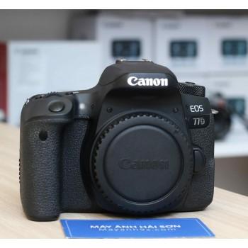 Thân máy Canon EOS 77D - Mới 9..