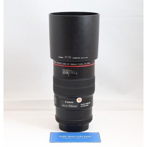 Canon Macro EF 100mm f/2.8L IS USM - Chính Hãng Lê Bảo Minh ( Hàng Mới )