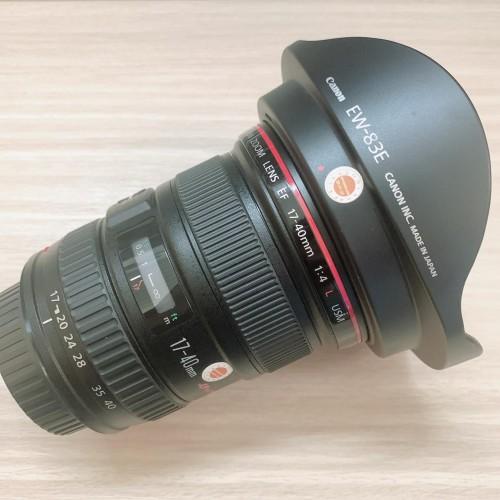 Canon EF 17-40mm f/4L USM - Hàng Qua Sử Dụng ( Mới 99% - UE )