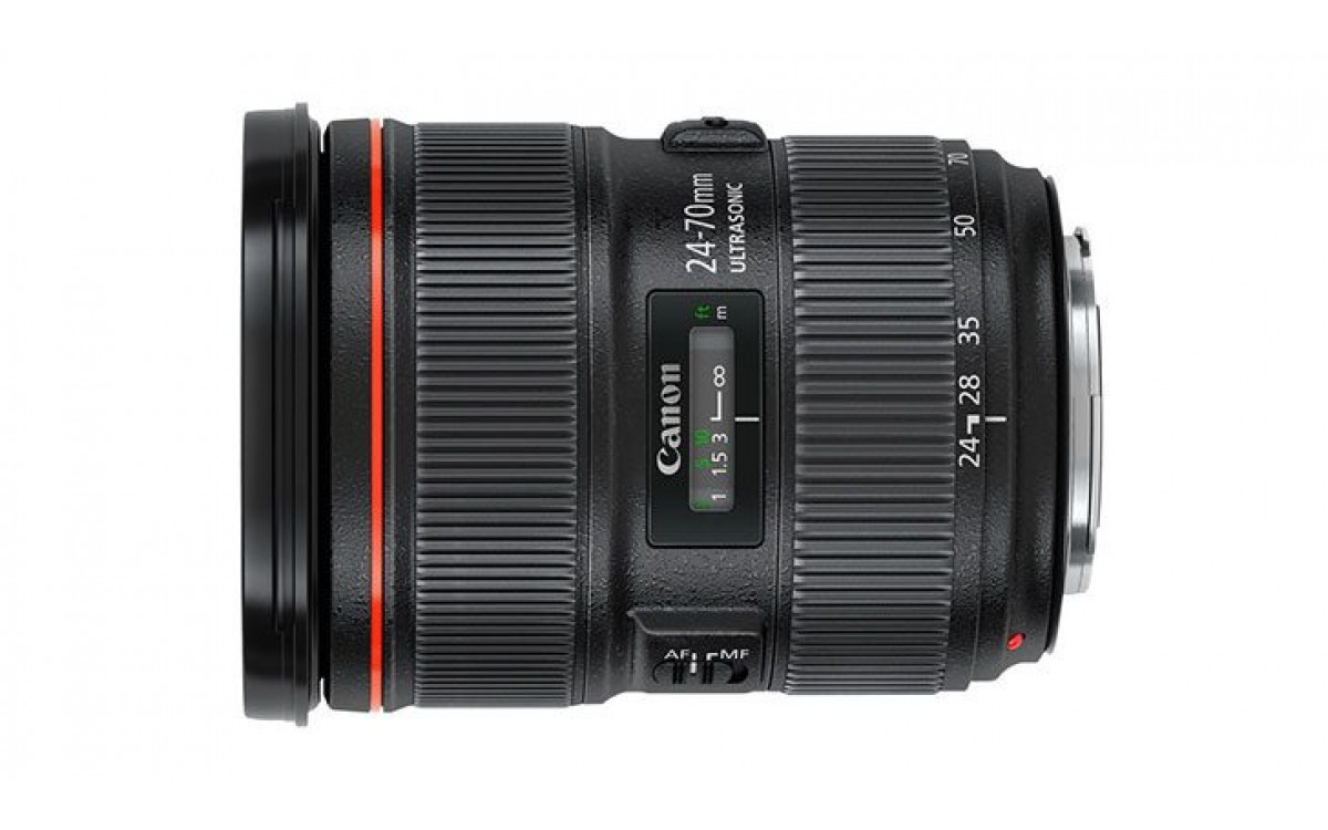 Canon EF 24-70mm f2.8L IS Mới Ra mắt
