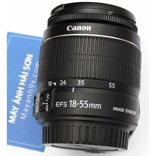 CANON EF-S 18-55mm f/3.5-5.6 IS II mới 98%