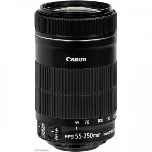 Canon EF-S 55-250mm f/4-5.6 IS STM Mới 100%