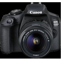 Canon EOS 1500D + kit 18-55 ii..