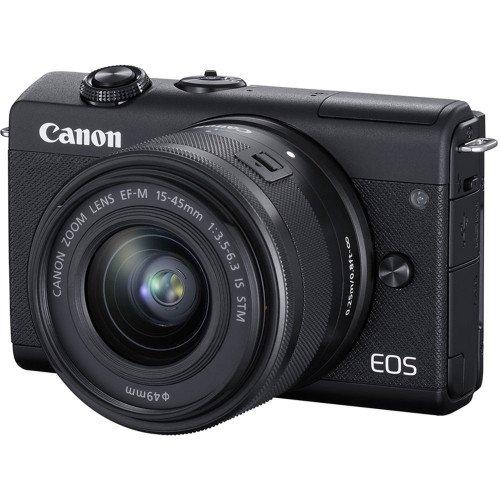 Canon M200 Kit 15-45 - Mới 98% - Chính hãng Lê Bảo Minh