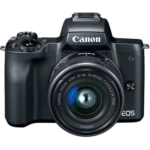Canon EOS M50 Mark II + Kit 15-45 STM - Chính hãng Lê Bảo Minh - Mới 100%