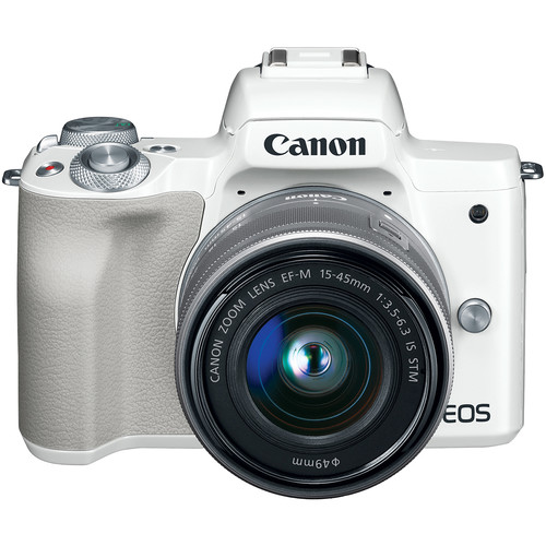 Canon EOS M50 Mark II Kèm kit 15-45 STM - Chính hãng Lê Bảo Minh - Brand New- Màu Trắng