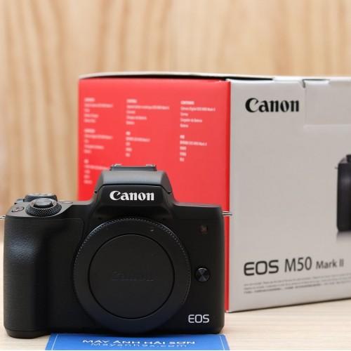 Canon EOS M50 Mark II - Hàng mới - Chính hãng ( Thân máy)