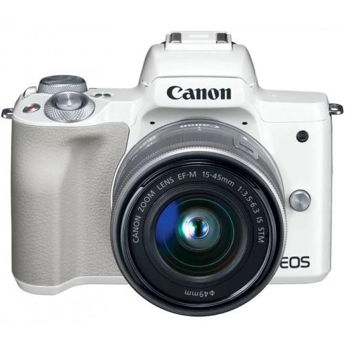 Canon EOS M50/ Mới 98%/Màu Trắng