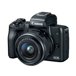 Canon EOS M50 + 15-45mm Mới 96..