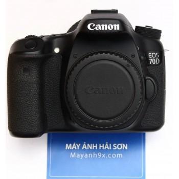 Thân máy Canon EOS 70D, Mới 99..