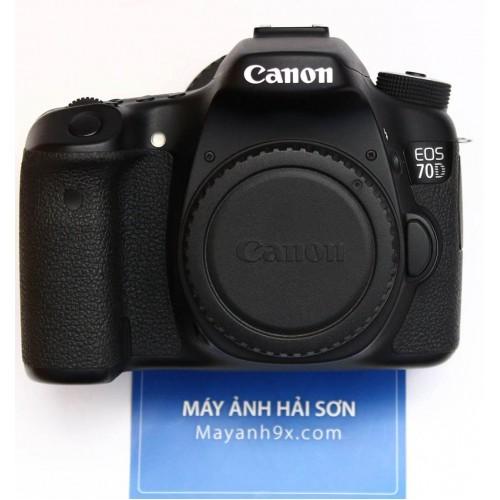 Thân máy Canon EOS 70D, Mới 99% - Chính hãng Lê Bảo Minh.