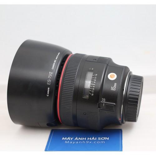 Canon EF 85mm F/1.2L II USM    ( Hàng Qua Sử Dụng Mới 98% - CODE UC )