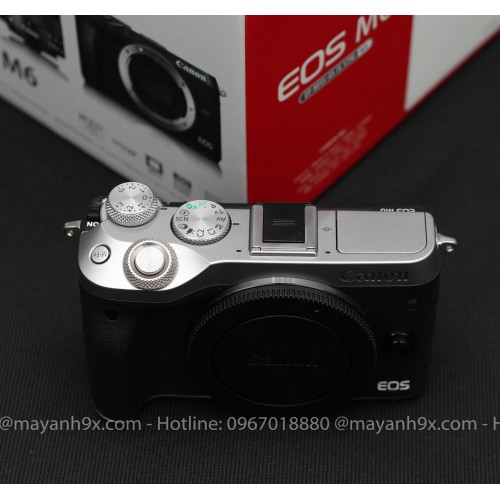 Canon EOS-M6 + Kit 15-45mm IS STM Mới 99%|Fullbox|
