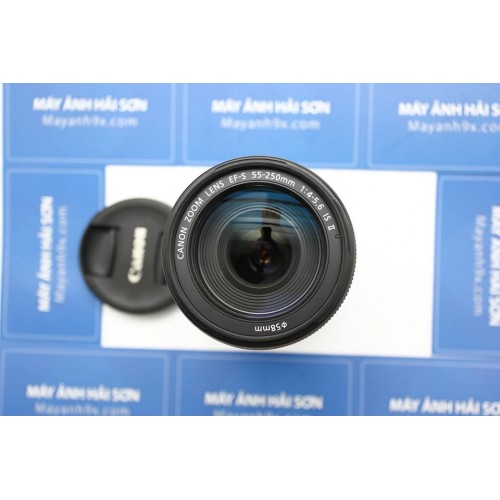 Canon EF-S 55-250mm f/4-5.6 IS II Fullbox mới 99%