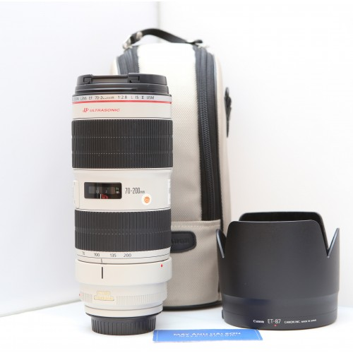 Canon EF 70-200mm f/2.8L USM is ii - Mới 98% - Fullbox