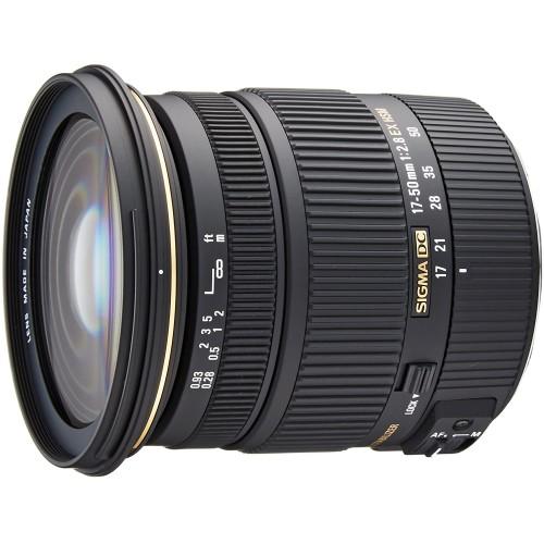 Ống Kính Sigma 17-50mm f/2.8 EX DC OS HSM - Sử dụng cho Canon ( Hàng Chính Hãng Shriro)