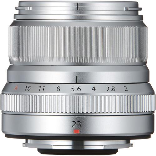 FUJIFILM XF 23mm F2 ( Chính Hãng - Mới 100% - Silver)