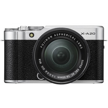 Fujifilm X-A20 + Kit 15-45mm, ..