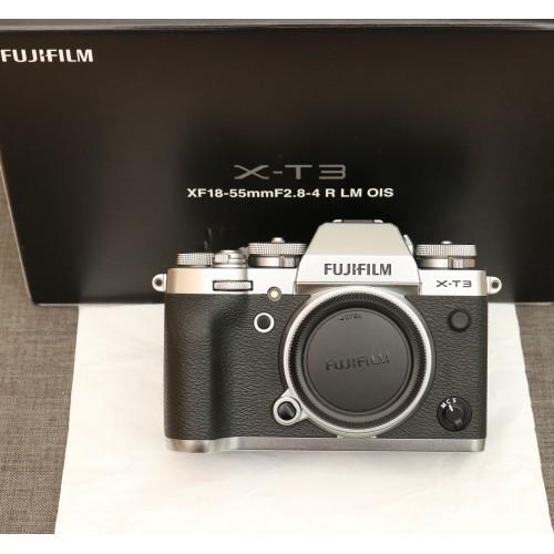 Máy ảnh Fujifilm X-T3 Màu Bạc- Mới 99% - Fullbox - Chính hãng