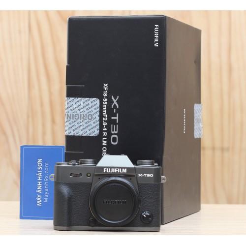 Body Fujifilm X-T30 (Chính hãng) Mới 98% - Màu Xám (Charcoal Silver Anthracite)
