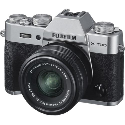 Fujifilm X-T30 - Kit 15-45mm Màu Bạc ( Hàng mới - Chính hãng)