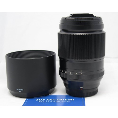 Fujifilm XF 90mm f/2 R LM WR|Chính Hãng|Mới 98%|Fullbox.