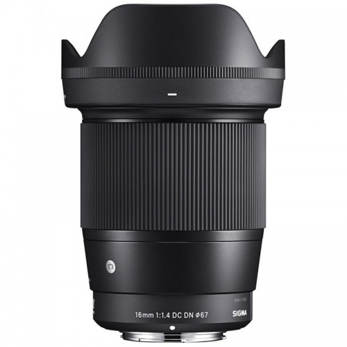 SIGMA 16mm f1.4 DN Canon EF-M Mount - Chính hãng - MỚi 96% - FullBox