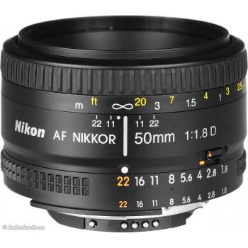 NIKON AF 50mm f/1.8D mới 96%