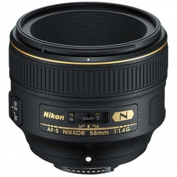 Nikon AF-S 58mm f/1.4G Nano, m..