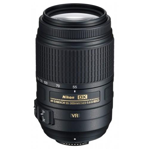 Nikon AF-S 55-300mm f4-5.6G ED VR, Mới 98%.