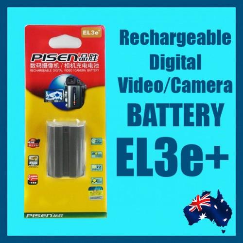 Pin Pisen EN-EL3e+ For Nikon D700, D300,D300S, D200, D100, D90, D80,D70s,D70,