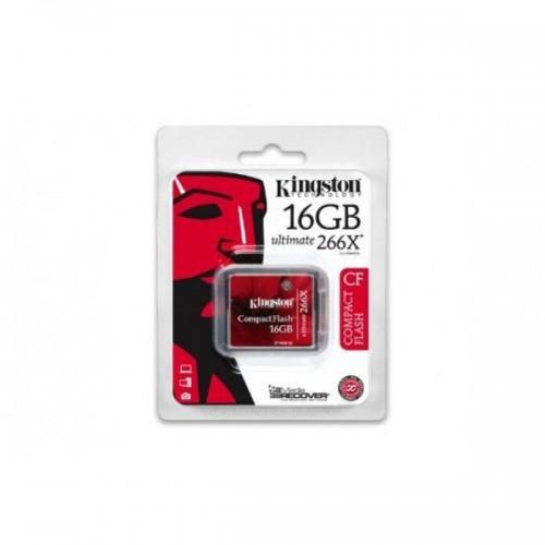 Thẻ nhớ Kingston CF 16GB Ultimate 266X