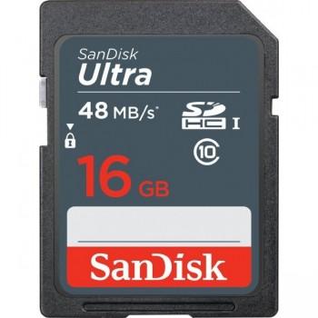 Thẻ nhớ SD Sandisk Ultra 16GB ..