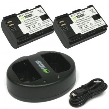 Bộ pin sạc Wasabi LP-E6 dùng c..