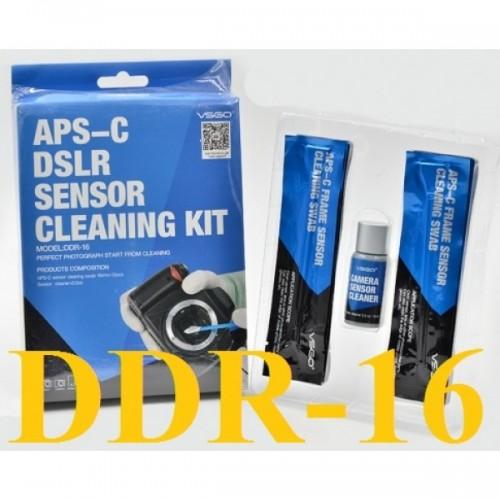 Bộ vệ sinh cảm biến sensor máy ảnh APS-C DDR-16 (Chính hãng)