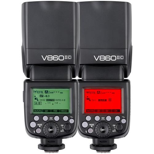 Flash Godox V860II C Cho Canon (Kèm pin và sạc)