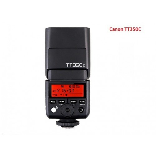 Flash Godox TT350C Cho Canon