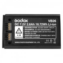 Pin Godox VB26 cho đèn Godox V..