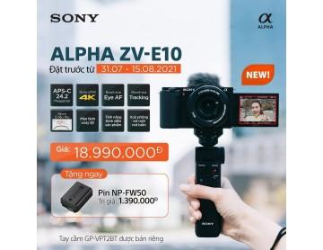 Máy ảnh Sony ZV E10 KIT 1650